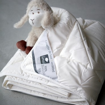 SUPER WASHABLE WOOL BABY DUVET - anti-dust mite