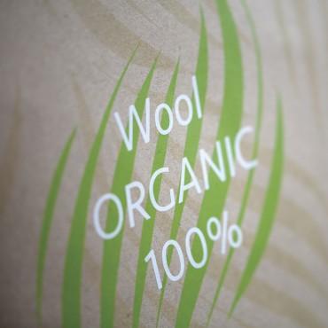 Couette en Laine certifiée «Textile biologique»
