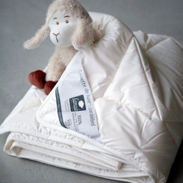 BABY WOOL DUVET for MAXI-COSY -  60x80 CM - washable & anti-dustmite
