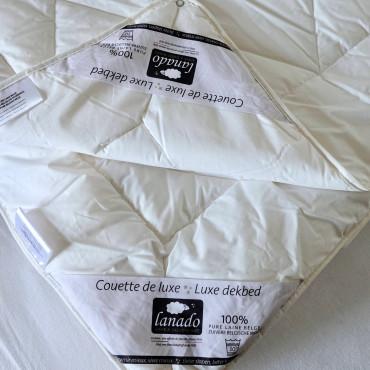 YOU & ME Full, 100% FLEXIBLE - Washable Belgian Wool Duvet