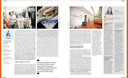 Dans le magazine MERKUR de la Chambre de Commerce Luxembourgeoise